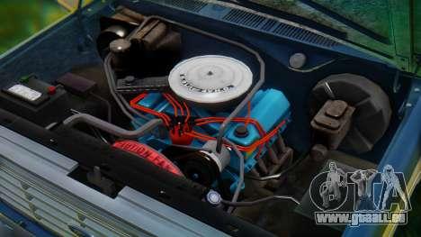 Ford F-150 1984 Final pour GTA San Andreas vue de dessous