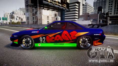 Nissan Silvia S14 pour GTA 4 est une gauche