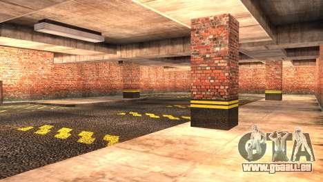 Doherty Garage Retexture pour GTA San Andreas troisième écran