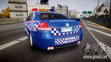 Holden VE Commodore SS Highway Patrol [ELS] v2.0 für GTA 4 hinten links Ansicht