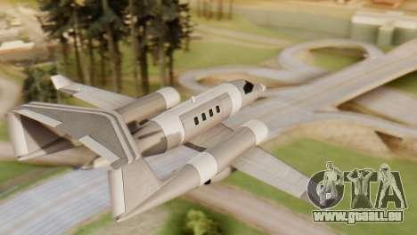 Double-Shamal pour GTA San Andreas laissé vue