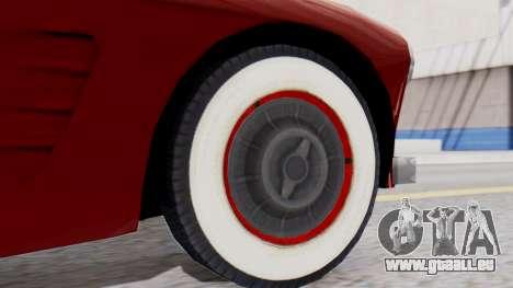 Ascot Bailey S200 from Mafia 2 pour GTA San Andreas sur la vue arrière gauche