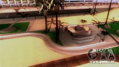 La plage de Los Santos pour GTA San Andreas deuxième écran