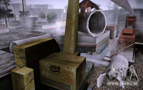 Bâtiment sur Grove Street v0.1 Beta pour GTA San Andreas