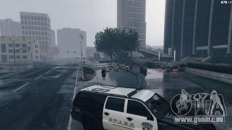 GTA 5 Raccoon City Vehicles achten Screenshot