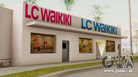 LC Waikiki Shop pour GTA San Andreas deuxième écran