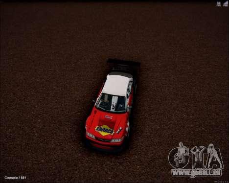 Toyota Mark 2 JZX100 Daigo Saito 2014 pour GTA San Andreas sur la vue arrière gauche
