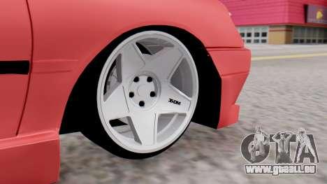 Peugeot 306 GTI für GTA San Andreas zurück linke Ansicht