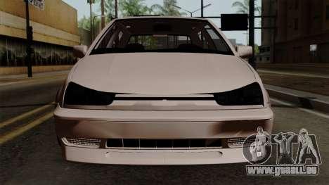 Volkswagen Golf 3 Shine pour GTA San Andreas vue arrière