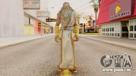 Zeus v1 God Of War 3 für GTA San Andreas zweiten Screenshot