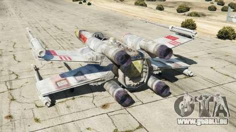 GTA 5 X-wing T-65 v1.1 troisième capture d'écran