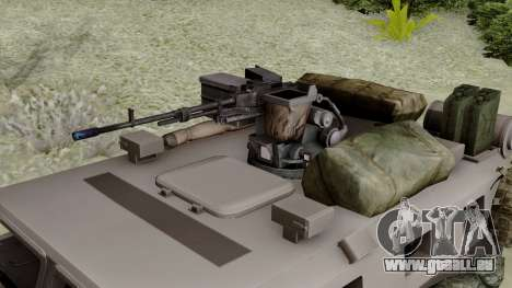 SPM-3 from Battlefiled 4 pour GTA San Andreas vue de droite