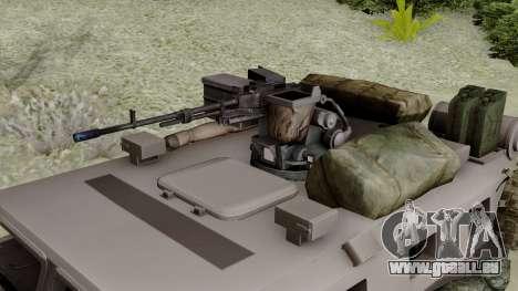 SPM-3 from Battlefiled 4 für GTA San Andreas rechten Ansicht