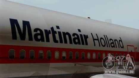 DC-10-30 Martinair für GTA San Andreas Rückansicht
