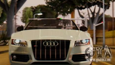 Audi S5 2010 Cabriolet für GTA San Andreas
