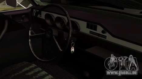 Dacia 1300 pour GTA San Andreas vue de droite