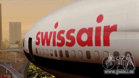 DC-10-30 Swissair pour GTA San Andreas vue arrière