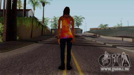 Curly Alara pour GTA San Andreas troisième écran