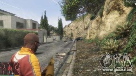 GTA 5 L'armée au lieu de la police sur 5-étoiles v1.3. troisième capture d'écran