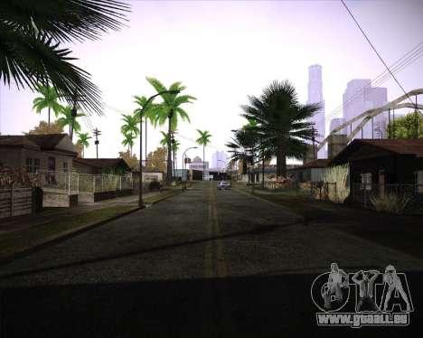 Professional Graphics Mod 1.2 pour GTA San Andreas troisième écran