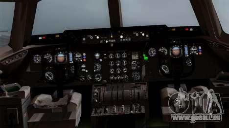DC-10-30 Martinair pour GTA San Andreas vue intérieure
