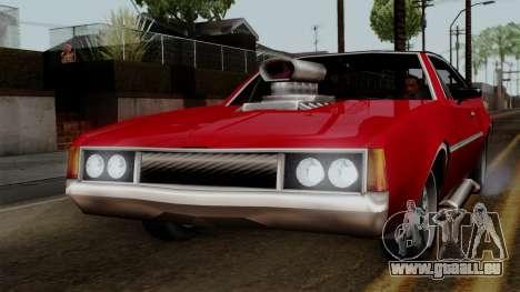 Muscle-Clover Beta v2 pour GTA San Andreas laissé vue
