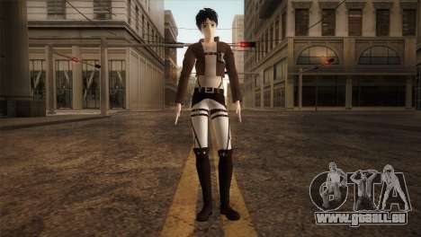 Eren Jaeger pour GTA San Andreas deuxième écran