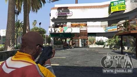 GTA 5 M-8 Avenger из Mass Effect 2 troisième capture d'écran