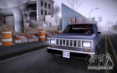 Bâtiment sur Grove Street v0.1 Beta pour GTA San Andreas deuxième écran
