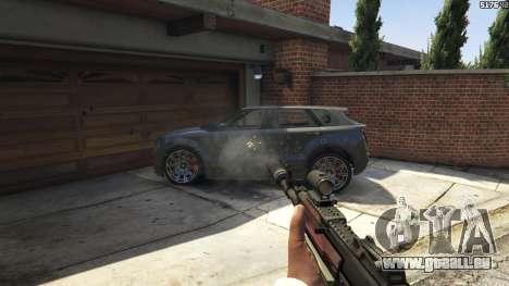 Battlefield 4 AK-12 pour GTA 5