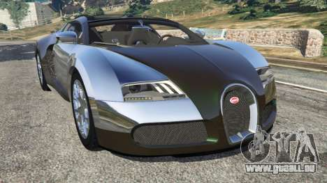 Bugatti Veyron Grand Sport v3.0 pour GTA 5