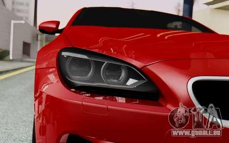 BMW M6 2013 v1.0 pour GTA San Andreas vue arrière