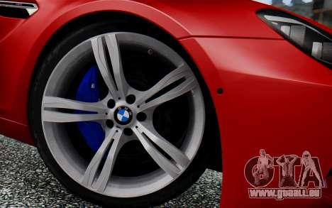 BMW M6 2013 v1.0 pour GTA San Andreas vue de droite