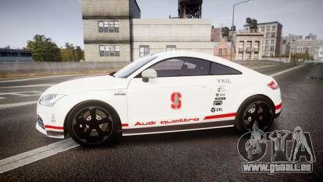 Audi TT RS 2010 Shelley pour GTA 4 est une gauche