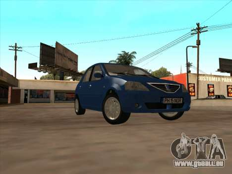 Dacia Logan Prestige für GTA San Andreas