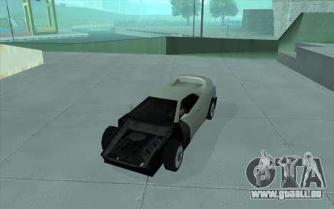 GTA 3 Infernus SA Style für GTA San Andreas Rückansicht
