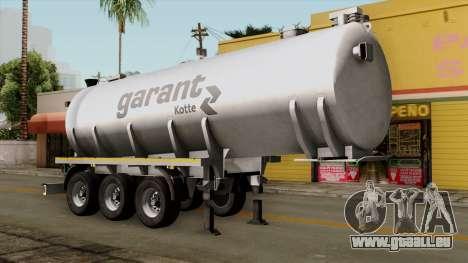 Trailer Kotte Garant für GTA San Andreas