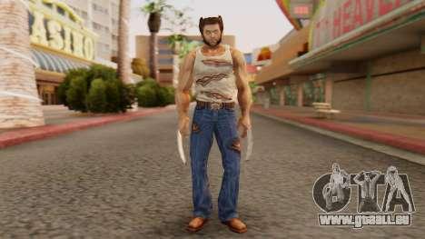 Wolverine v2 pour GTA San Andreas deuxième écran