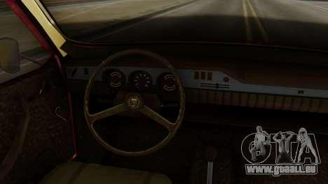 Dacia 1300 pour GTA San Andreas sur la vue arrière gauche