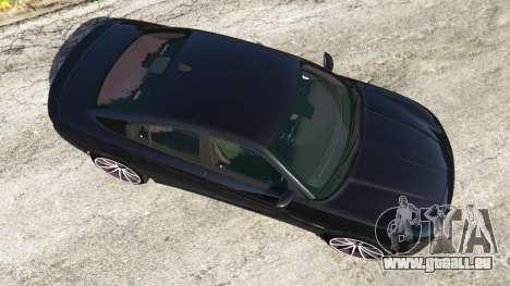 GTA 5 Dodge Charger RT 2015 v0.5 Rückansicht