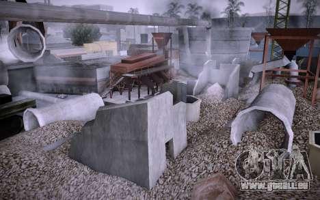 Bâtiment sur Grove Street v0.1 Beta pour GTA San Andreas troisième écran