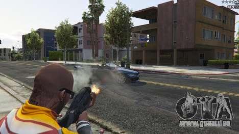 GTA 5 M-8 Avenger из Mass Effect 2 sixième capture d'écran