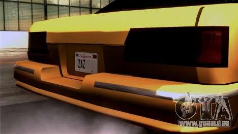 Taxi Kuruma 0.9 für GTA San Andreas rechten Ansicht