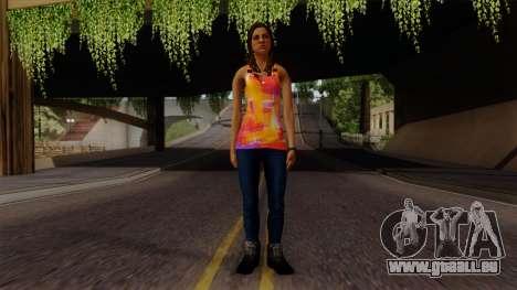 Curly Alara pour GTA San Andreas deuxième écran