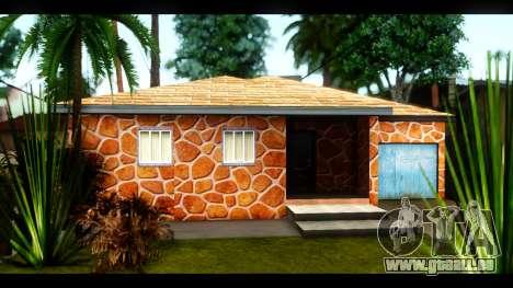 Neue Texturen der Häuser rund um die grove Stree für GTA San Andreas fünften Screenshot