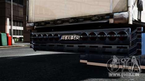 Renault Magnum pour GTA 4 est un droit