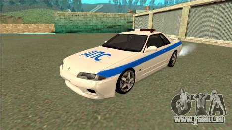 Nissan Skyline R32 Russian Police für GTA San Andreas