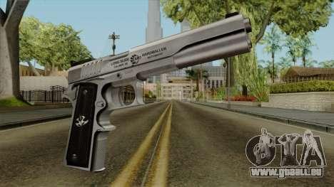 Original HD Colt 45 pour GTA San Andreas