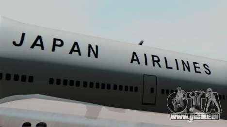 Boeing 747 JAL pour GTA San Andreas vue arrière