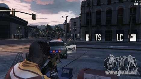Visée Laser pour GTA 5